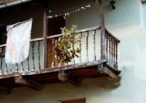 Ramo en balcón